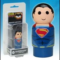 【USA直輸入】DCコミックス Pin Mate ピン メイト 木製 フィギュア バットマン VS スーパーマン スーパーマン 12   2インチ Pin Mates ピンメイト DC