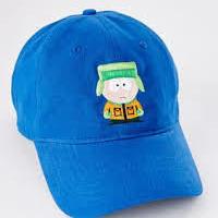 【USA直輸入】サウスパーク カイル ロゴ  ダッド ハット キャップ 帽子 ベースボールキャップ