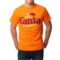 【USA直輸入】ドリンク ファンタ オレンジ Tシャツ Sサイズ 企業 Fanta