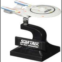 【USA直輸入】スタートレック モニターメイト U.S.S. Enterprise NCC-1701 D エンタープライズ ミニ バブル シップ フィギュア Star Trek TNG