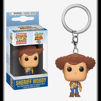 【USA直輸入】ポケットPOP! キーチェーン DISNEY トイストーリー 保安官 ウッディ― Sheriff FUNKO   Toy Story  ディズニー ピクサー キーホルダー ポップ