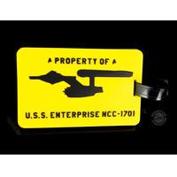 【USA直輸入】スタートレック U.S.S. Enterprise NCC-1701  エンタープライズ ラゲッジタグ タグ 定期入れ スタトレ  Star Trek TNG  TOS