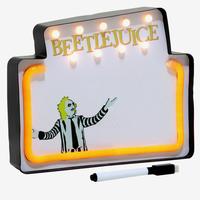 【USA直輸入】Beetlejuice ビートルジュース ライトアップ ホワイトボード ティム・バートン ホラー ネオンサイン ウォールアート