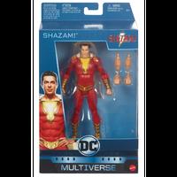 【USA直輸入】DCコミックス マルチバース Multiverse Shazam シャザム 6インチ アクション  フィギュア DC SHAZAM! 映画 ザッカリー・リーヴァイ