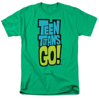 【USA直輸入】ティーンタイタンズ GO ロゴ Tシャツ Sサイズ ロビン  カートゥーン ネットワーク TEEN TITANS GO