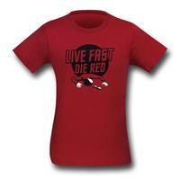 【USA直輸入】STAR TREK Tシャツ 赤服はすぐ殺される スタートレック 保安部員