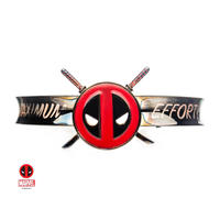 【USA直輸入】MARVEL デッドプール アイコン バングル ブレスレット マーベル デップ アクセサリー ロゴ 刀 Deadpool