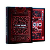 【USA直輸入】STARWARS スターウォーズ プレイングカード 赤色ケースVer ダークサイド トランプ カード theory11 ディズニー カイロレン ダースベイダー