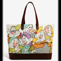 【USA直輸入】DISNEY 白雪姫 7人のこびと バック トート ディズニー ラウンジフライ  トートバック