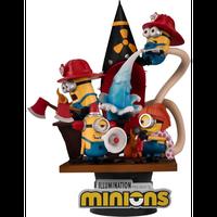 【USA直輸入】 Minions ミニオンズ  ビーストキングダム  D-STAGE Dステージ  シリーズ 「 消防士 」  DS-049 ジオラマ スタチュー フィギュア ミニオン