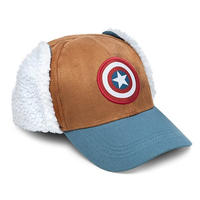 【USA直輸入】MARVEL キャプテンアメリカ ロゴ ウィンター ハット キャップ 帽子