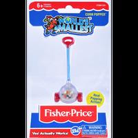 【USA直輸入】World's Smallest  ワールズ・スモーレスト コーンポッパー ミニ ミニチュア 玩具 おもちゃ ゲーム フィッシャープライス