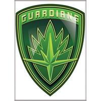 【USA直輸入】MARVEL ガーディアンズオブギャラクシー シールド シンボル マグネット 磁石 Shield ガーディアンズ  GOG マーベル