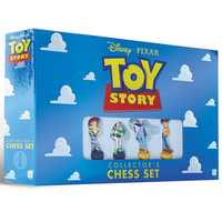 【USA直輸入】Disney トイストーリー4 コレクターズ チェス セット ウッディ & バズ & ジェシー & ダッキー & バニー & フォーキー Toy Story トイストーリー