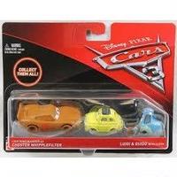 【USA直輸入】cars3 カーズ クロスロード 泥んこマックィーン ルイジ&グイド 3セット マテル ミニカー CARS