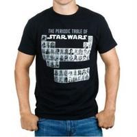 【USA直輸入】STARWARS Tシャツ 元素記号 スターウォーズ キャラクター