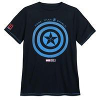 【USA直輸入】MARVEL 10周年記念 キャプテンアメリカ シールド ロゴ Tシャツ マーベル 映画 MCU