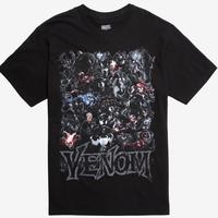 【USA直輸入】MARVEL  Venom ヴェノム グループ カレッジ Tシャツ スパイダーマン ベノム ユニバース マーベル  ヴィラン ダークヒーロー シンビオート