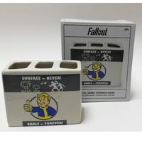 【USA直輸入】フォールアウト  Vault-Tec ボルトボーイ 歯ブラシ立て ペンスタンド Fallout  Vault  111 GAME フィギュア Fallout 4 ペン立て ゲーム