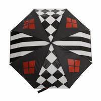 【USA直輸入】DCコミックス 折り畳み傘 ハーレイクイン DC ロゴ ジョーカー 正規品