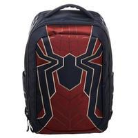 【USA直輸入】MARVEL アイアンスパイダー スーツ ロゴ バックパック リュック マーベル アベンジャーズ インフィニティウォー スパイダーマン Iron Spider