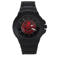 【USA直輸入】MARVEL マーベル Hydra ヒドラ シンボル リストウォッチ 腕時計 アベンジャーズ ウィンターソルジャー キャプテンアメリカ