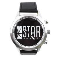 【USA直輸入】DCコミックス スターラボ フラッシュ FLASH アジャスターベルト リストウォッチ 腕時計 ロゴ 海外ドラマ 正規ライセンス  DC