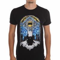 【USA直輸入】DC バットマン ステンドグラス Tシャツ DCコミックス