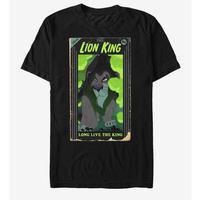 【USA直輸入】DISNEY ライオンキング スカー  ビデオ キング Tシャツ ハイエナ ディズニー  ヴィランズ  Lion king  シェンジ バンザイ エド