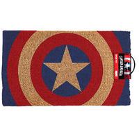 【USA直輸入】MARVEL マーベル キャプテンアメリカ シールド ドアマット Shield マット