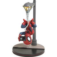 【USA直輸入】MARVEL スパイダーマン 街灯 ぶら下がり カメラ Q-FiG ジオラマ フィギュア PVC マーベル Qフィグ Spider-Man