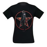 【USA直輸入】MARVEL ウィンターソルジャー  バッキー 過去と未来 Tシャツ  キャプテンアメリカ マーベル