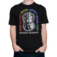【USA直輸入】MARVEL インフィニティー ガントレット ストーン Tシャツ マーベル サノス