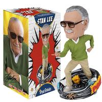 【USA直輸入】MARVEL Stan Lee スタンリー バブルヘッド Royal Bobbles 首振り人形 フィギュア 置物 マーベル アベンジャーズ スタン・リー