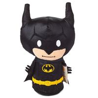 【USA直輸入】DC バットマン ダークナイト ぬいぐるみ 光沢のあるスーツ ブラック ittybittys 約10cm hallmark ゴッサムシティ DCコミックス