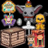 【USA直輸入】DISNEY FUNKO Treasures :  Festival of Friends ボックス POP! ダンボ プルート ウッディ とんすけ フィギュア ポップ ディズニー