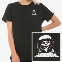 【USA直輸入】Annabelle ポケットから アナベル  クリエイション ブロークン ケース レディース Tシャツ Mサイズ バックプリント ホラー