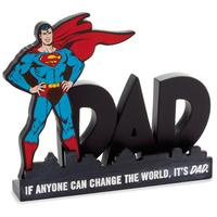 【USA直輸入】DCコミックス スーパーマン DAD デスク フィギュア 置物 ジャスティスリーグ クラークケント  DC Superman 父の日