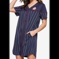 【USA直輸入】MARVEL キャプテンアメリカ ベースボール Tシャツ ワンピース アベンジャーズ マーベル  ドレス 盾 スカート キャプテン アメリカ