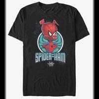 【USA直輸入】MARVEL  スパイダーバース スパイダーハム Tシャツ スパイダーマン マーベル   SPIDER-VERSE  SpiderHam  ハム ピーター・ポーカー アース