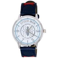 【USA直輸入】MARVEL スパイダーマン シンボル リストウォッチ 腕時計 ベルト マーベル アベンジャーズ ロゴ Spider-man ピーター・パーカー