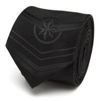 【USA直輸入】MARVEL キャプテンマーベル ブラック ネクタイ シルク cufflinks カフリンクス マーベル Captain marvel アパレル スーツ