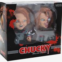 【USA直輸入】Child's Play  チャイルドプレイ Mezco デザイナーシリーズ MDS デラックス チャッキー フィギュア ピザフェイス Chucky  ホラー