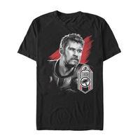 【USA直輸入】MARVEL アベンジャーズ エンドゲーム マイティソー タグ Tシャツ Sサイズ マーベル 映画 MCU Thor ソー