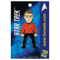 【USA直輸入】スタートレック スコッティ ピンズ スタトレ  Star Trek ピン Scotty デフォルメ Pin