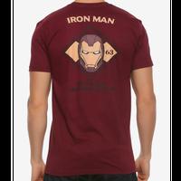 【USA直輸入】MARVEL アイアンマン スタークインダストリーズ ダイアモンド 63 Tシャツ アベンジャーズ マーベル 映画 MCU Iron Man トニースターク