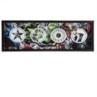 【USA直輸入】MARVEL アベンジャーズ ロゴ シャドーボックス 看板 ウォールデコ