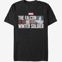 【USA直輸入】MARVEL ファルコン & ウィンターソルジャー シールド Tシャツ マーベル キャプテンアメリカ アベンジャーズ