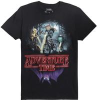 【USA直輸入】 アドベンチャータイム フィン ジェイク 自転車 Tシャツ S ストレンジャーシングス パロディ カートゥーン    Adventure Time  Stranger Things