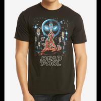 【USA直輸入】MARVEL デッドプール 有名な映画ポスター風 Tシャツ マーベル